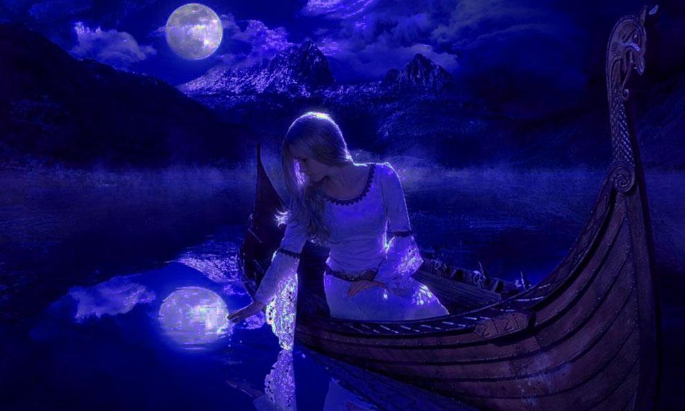 магия, ночь